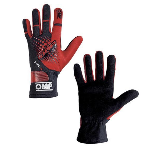Детски картинг ръкавици OMP KS-4 gloves - в шест цвята